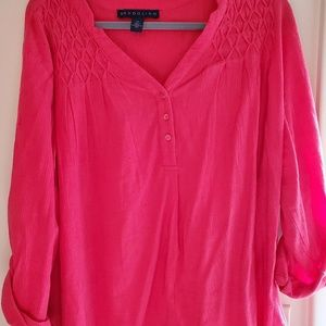 Womens XXL Coral top